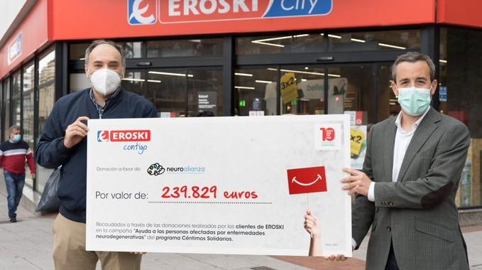 Eroski céntimo solidario