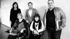 Prepresentantes de Neuroalianza, Esclerosis Múltiple España, Asociación Navarra de Esclerosis Múltiple, Asociación Navarra de Párkinson y Asociación Navarra de Enfermedades Neuromusculares